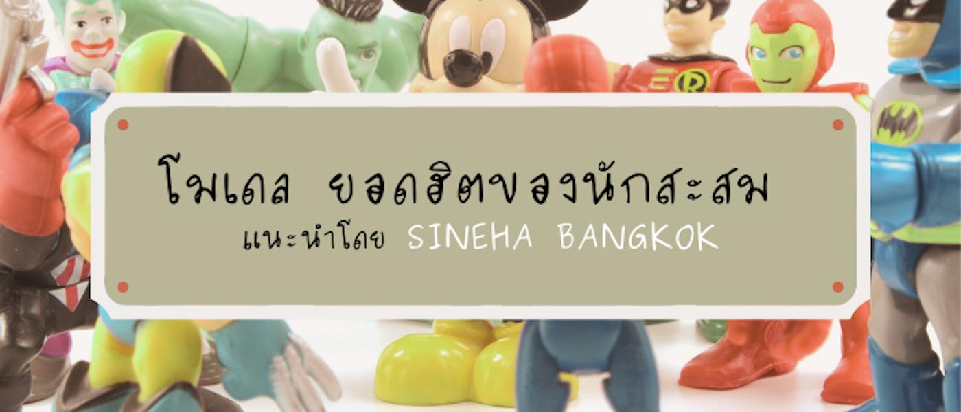 10 สุดยอด โมเดล ยอดฮิตของนักสะสมแนะนำโดย Sineha Bangkok