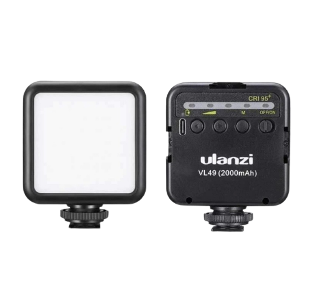 Ulanzi Gadget สำหรับ Vlog Mini LED Video Light VL49 1