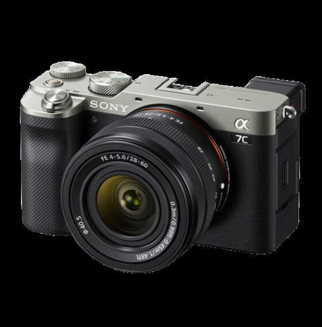Sony อุปกรณ์สำหรับถ่ายภาพกลางคืน กล้อง Mirrorless Alpha a7C 1