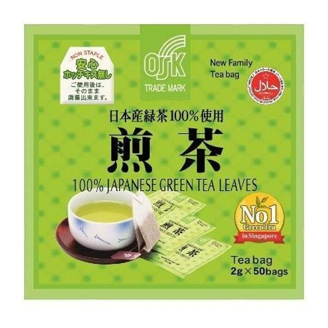 OSK ชาเขียวญี่ปุ่น New Family Japanese Green Tea 1