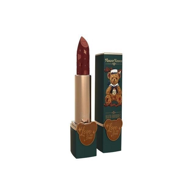 เครื่องสำอางจีน / เครื่องสำอางไต้หวัน Love Navy Bear Lipstick – Matte Lipstick 1