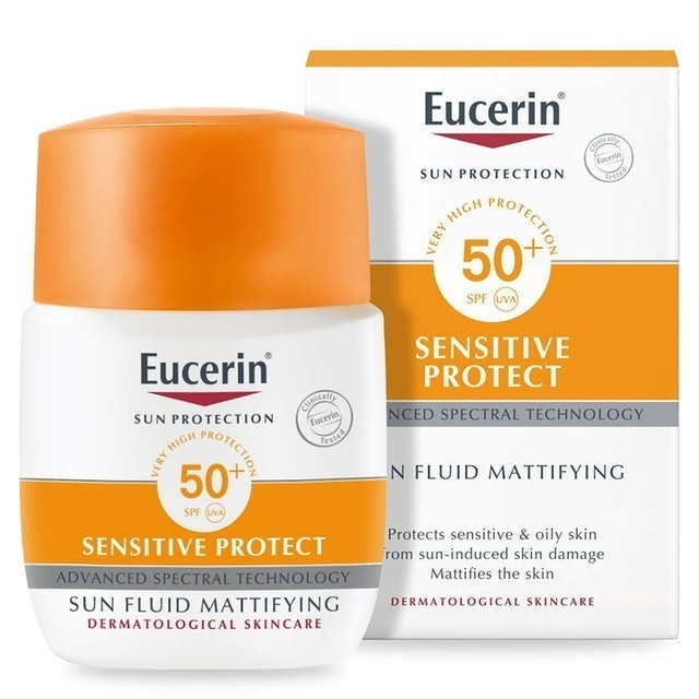 Eucerin ผลิตภัณฑ์ Eucerin Sun Fluid Mattifying Face SPF 50+ 1