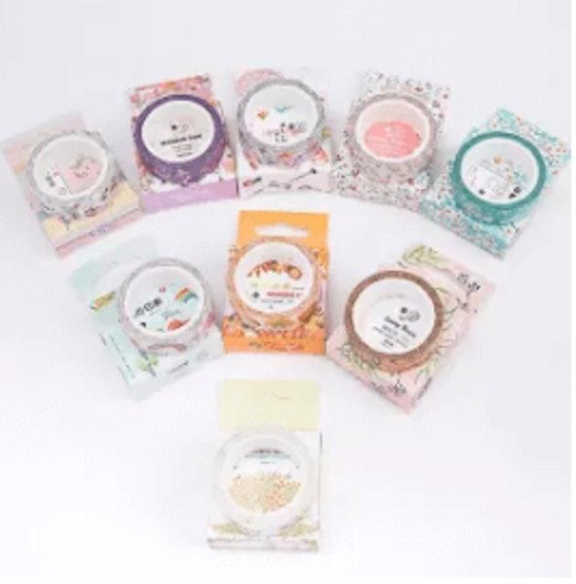 RHS Washi  Paper Scrapbooking Decorative Sticker Masking DIY Adhesive Tape Roll 1