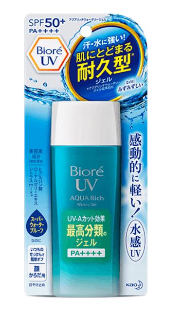 Biore  UV Aqua Rich Watery Gel SPF50+ PA++++ 1