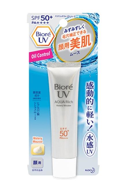 Biore UV Aqua Rich Watery Mousse SPF50+ PA++++ 1