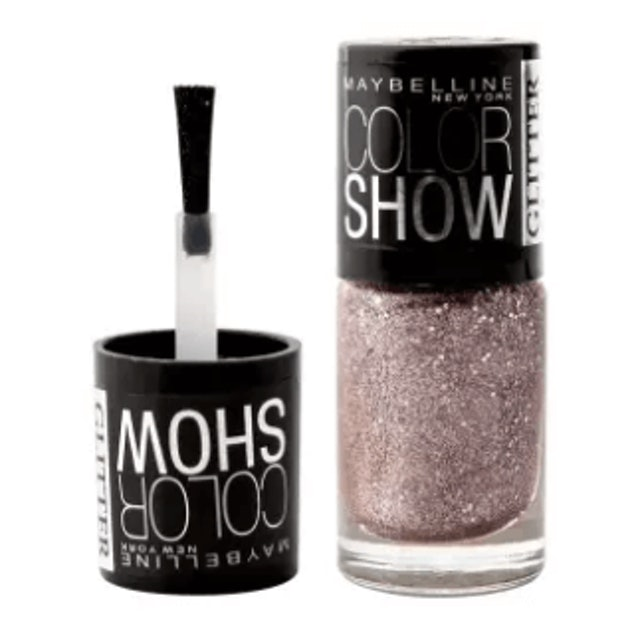 MAYBELLINE NEW YORK COLOR SHOW GLITTER MANIA COLLECTION 607 PINK CHAMPAGNE 1