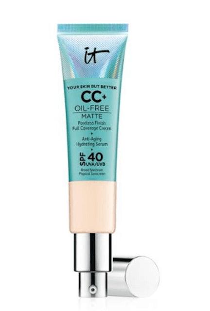 IT cosmetics Your Skin But Better CC + Oil Free Matte SPF 40+ #Light 1