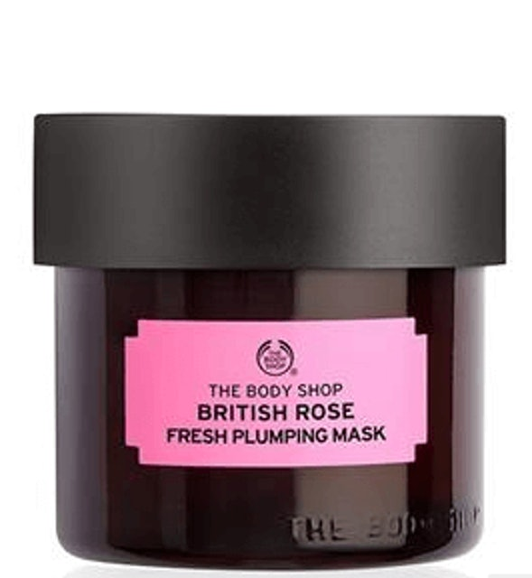 THE BODY SHOP  British Rose Fresh Plumping Mask 1