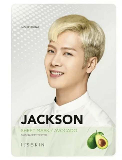 It's Skin  Mask Sheet Avocado  JACKSON 1