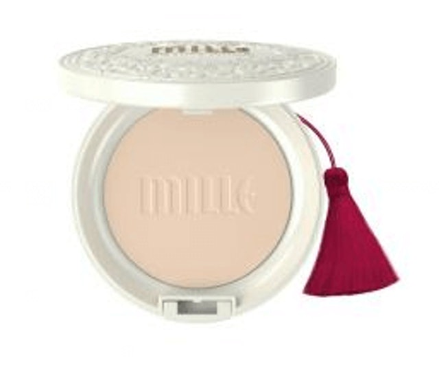 Mille  Super Whitening Gold Rose Pact SPF48 PA+++ 1