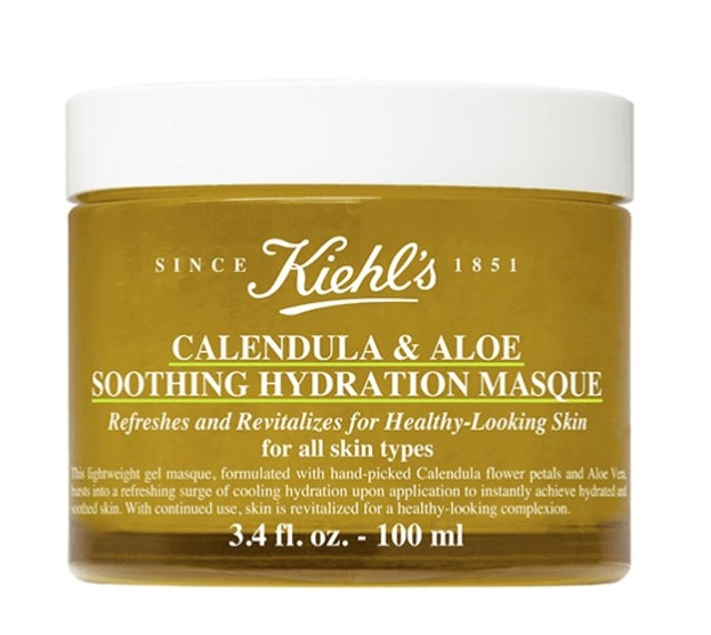 Kiehl's  Calendula and Aloe Soothing Hydration Masque 1