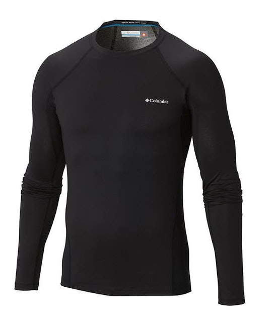 Columbia Men's Midweight Stretch Baselayer Long Sleeve Shirt 1
