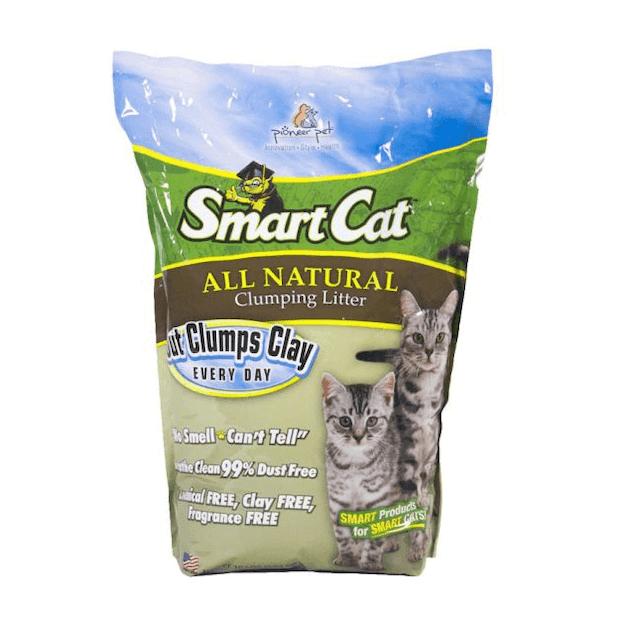 SmartCat ทรายหญ้าธรรมชาติ 100% 1