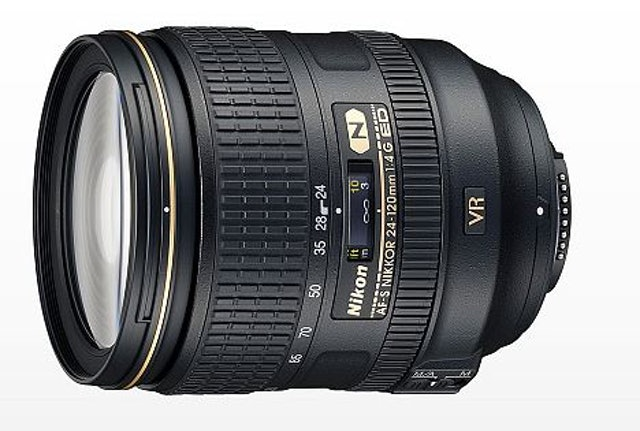 Nikon  AF-S NIKKOR 24-120mm f/4G ED VR 1