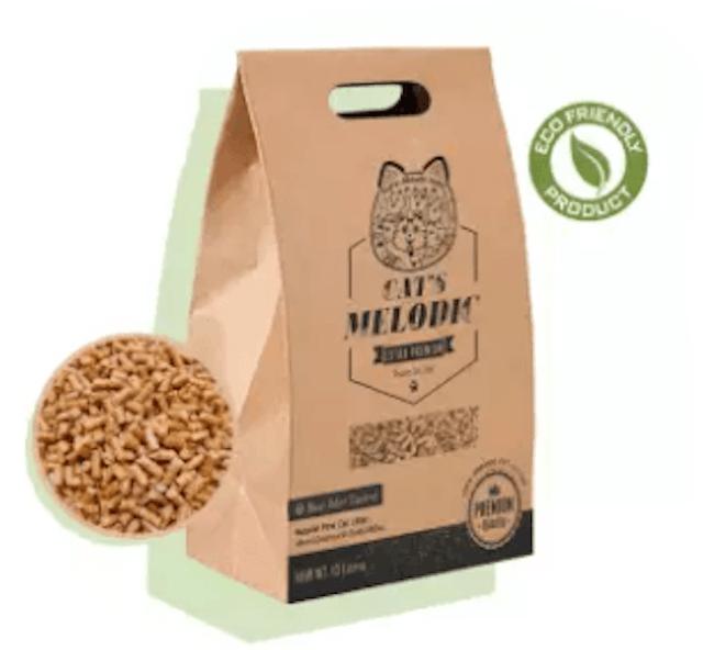 CAT'S MELODIC ทรายแมวไม้สน 1