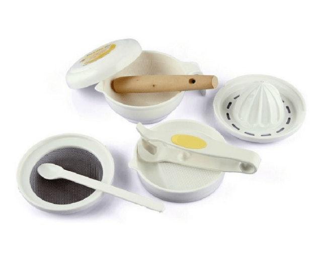 Richell   baby food cooking set ชุดเตรียมอาหารสำหรับเด็ก 1