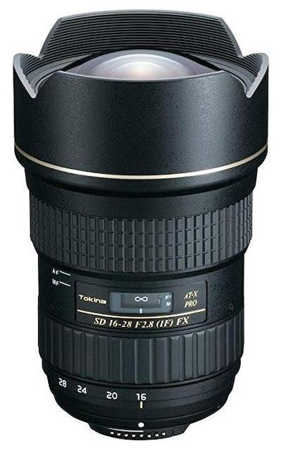 Tokina  Lens 16-28 mm F2.8 (IF) PRO FX  1