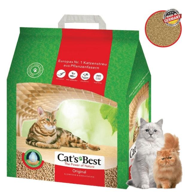 Cat's Best Original ทรายแมวอนามัย ทรายไม้สน 1