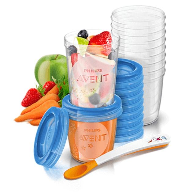 Philips Avent ชุดถ้วยสำหรับบรรจุน้ำนมหรืออาหาร  1