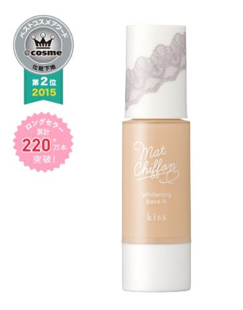 KISS Mat Chiffon UV Whitening Base SPF26 PA+++ 1