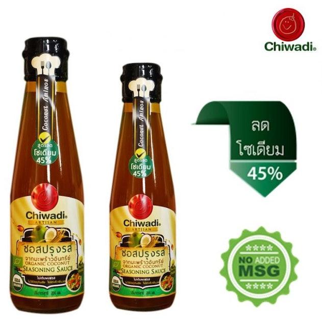 Chiwadi ซอสปรุงรสจากมะพร้าวอินทรีย์ 200 มล. 1