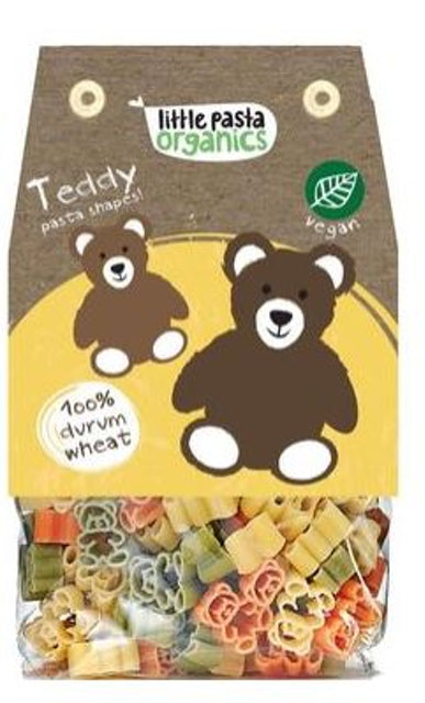Little Pasta Organics  Teddy Pasta Shapes 250 g 1
