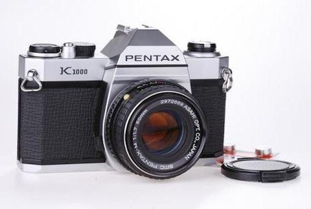 Pentax K1000  1