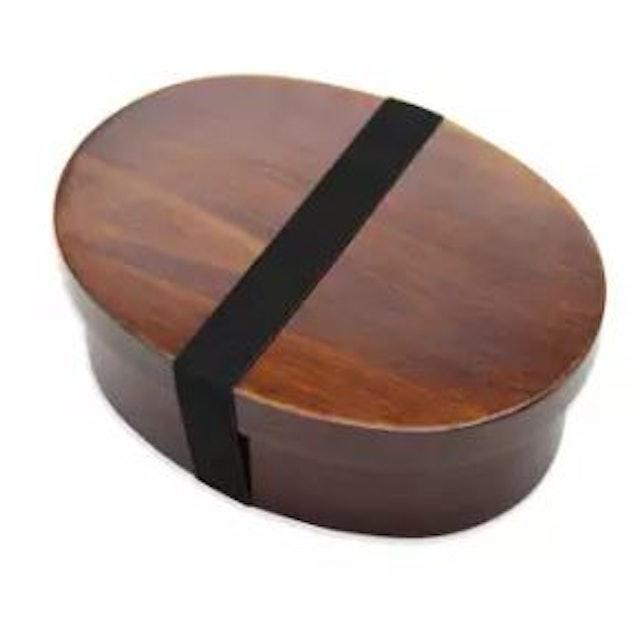 No Brand Wooden Lunchbox 1