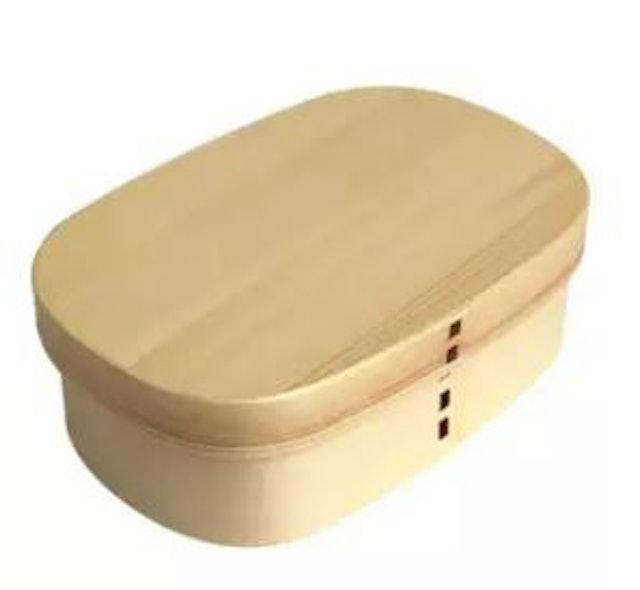 No Brand Vintage Wooden Lunchbox 1