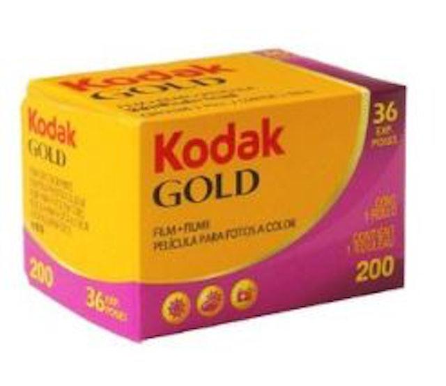 Kodak Gold 200 1