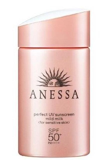 ANESSA Perfect UV Sunscreen Mild Milk SPF 50+ PA++++ 1