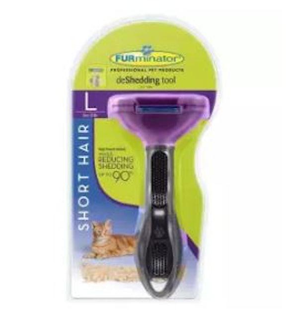 FURminator แปรงหวีขนแมวขนสั้น กำจัดขนเสีย 1