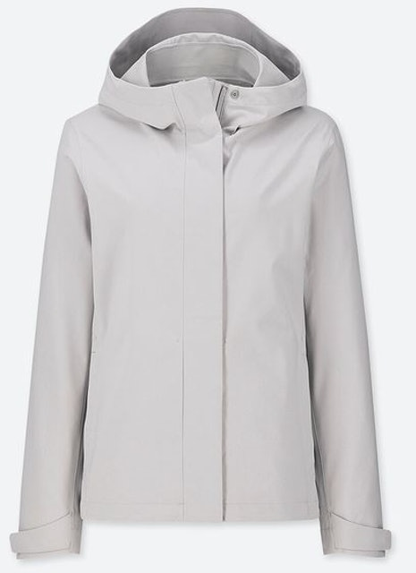 Uniqlo เสื้อฮู้ดพาร์กา Blocktech 1