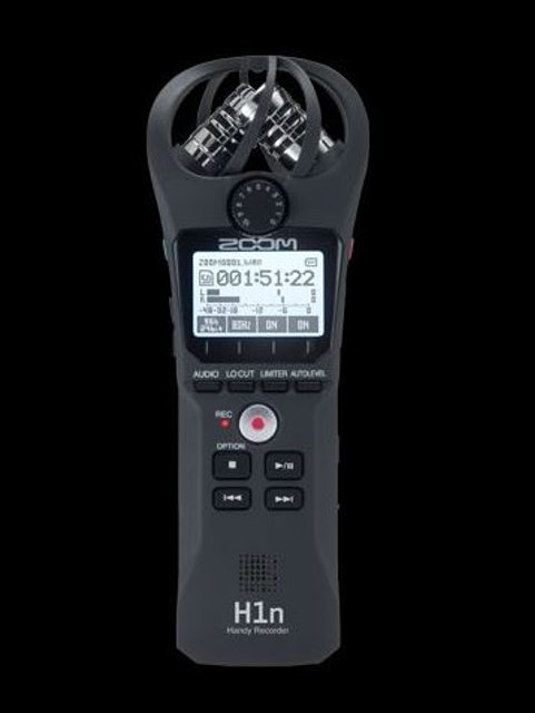 ZOOM H1n Handy Recorder  1