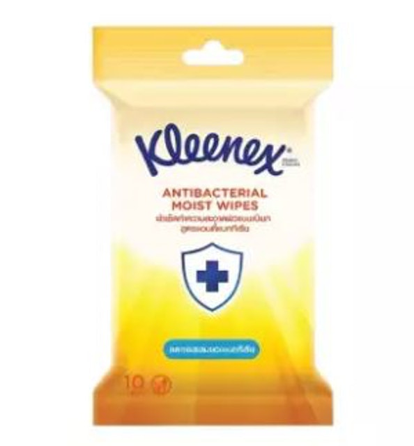 Kleenex Antibacterial Moise Wipes 1