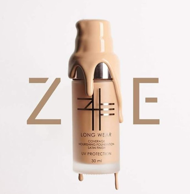 ZHE Long Wear Coverage Nourishing Foundation Satin Finish 1