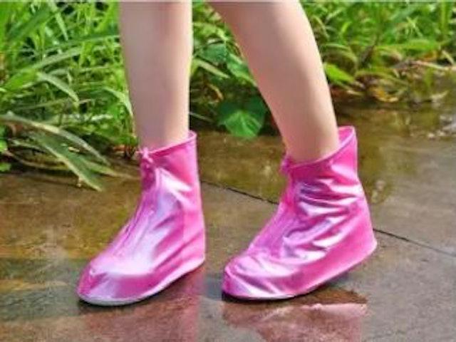 No Brand ถุงใส่รองเท้า กันน้ำ กันฝน รุ่นคลุม 2 ชั้น 1