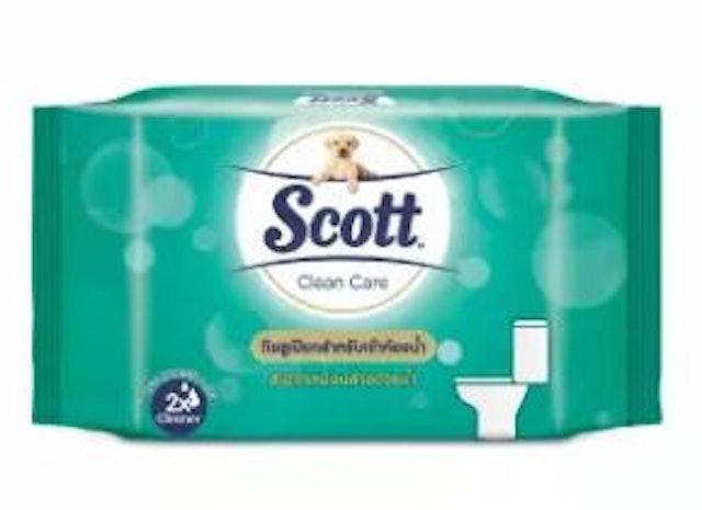 Scott Scott Extra Care Moist Toilet Wipe 1
