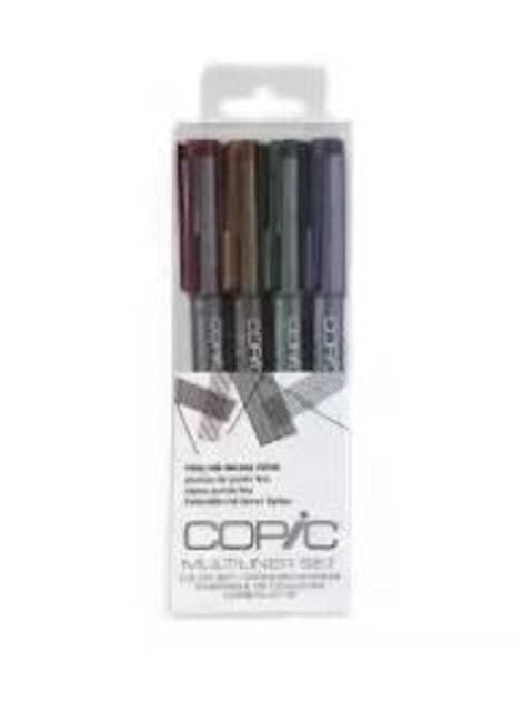Copic ปากกาตัดเส้น Multiliner Set 1