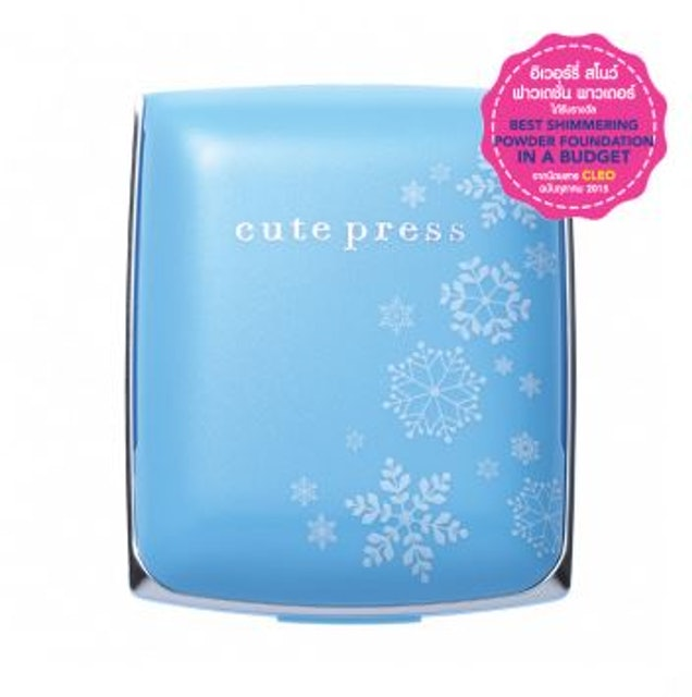 Cute Press EVORY SNOW WHITENING & OIL CONTROL FOUNDATION POWDER SPF30 PA ++ 1