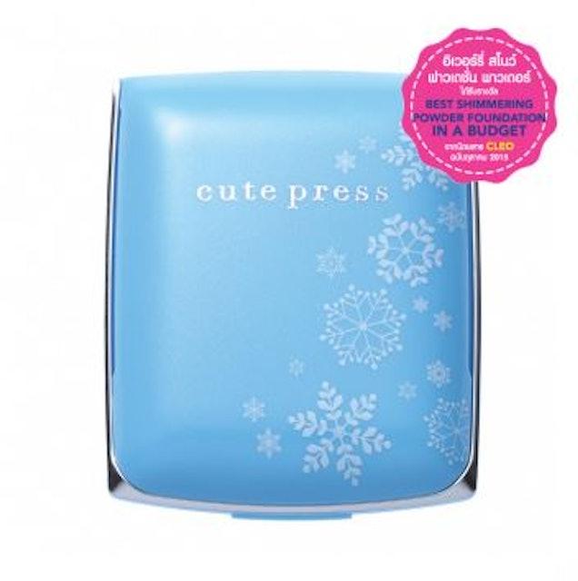 Cute Press EVORY SNOW WHITENING & OIL CONTROL FOUNDATION POWDER SPF30 PA ++ 1