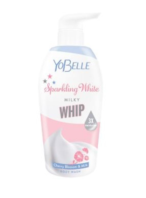 Yobelle Sparkling White Milky Whip Body Wash 1
