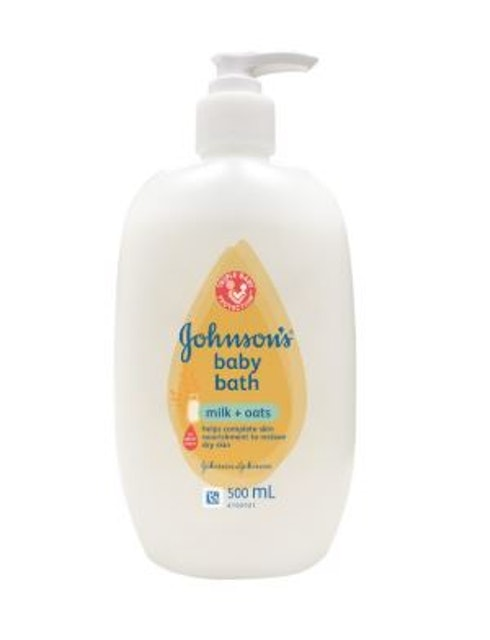 Johnson's  Baby Bath Milk+Oats  1