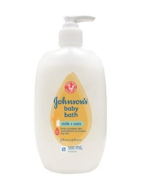 Johnson's  Baby Bath Milk+Oats  1