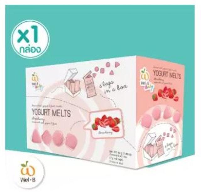 Wel-B Baby Freeze-Dried Yogurt Strawberry  1