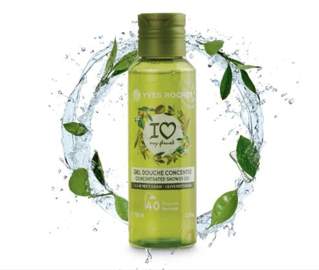 YVES ROCHER  Relaxing Olive Lemongrass Concentrated SHG 1