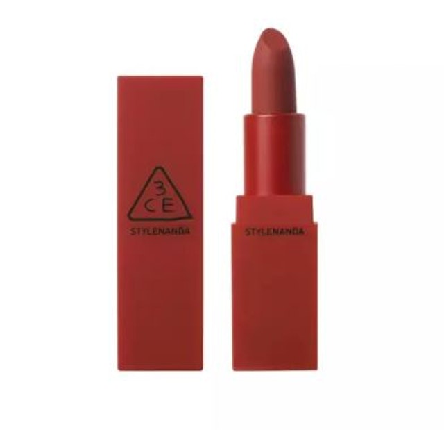 3CE RED RECIPE MATTE LIP COLOR #215 RUBY TUESDAY 1