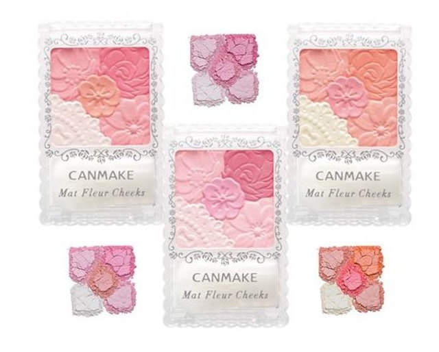 CANMAKE  Mat Fleur Cheeks #02 Matte Girly Rose 1