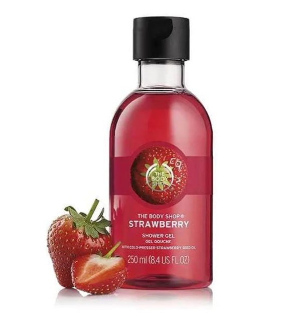 THE BODY SHOP STRAWBERRY SHOWER GEL 1