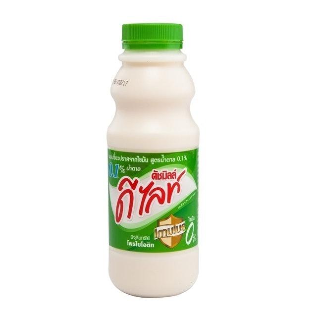 ดัชมิลล์ ดีไลท์ เครื่องดื่มเพื่อสุขภาพ นมเปรี้ยวปราศจากไขมันสูตรน้ำตาล 0.1% 1